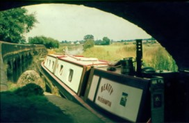 Beatty above Aynho Weir Lock, Oxford Canal.
