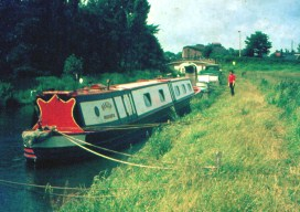Beatty at Market Drayton, Shropshire Union Canal.