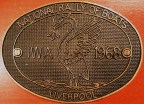 Liverpool Rally plaque
