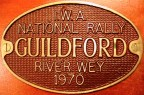 Guildford Rally plaque