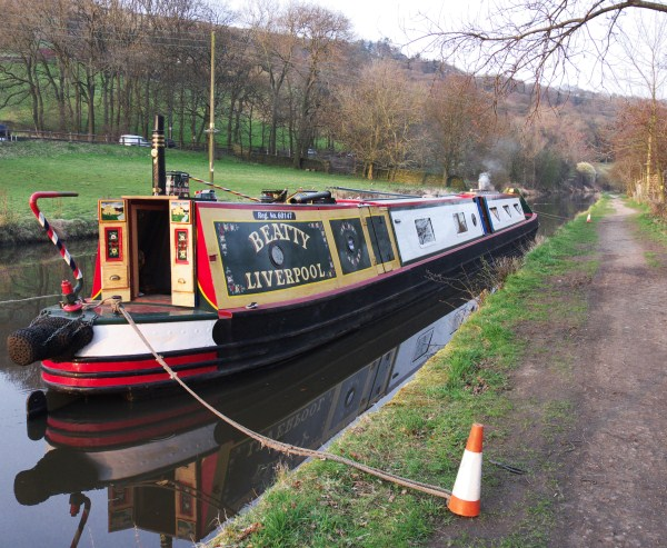 Beatty moored